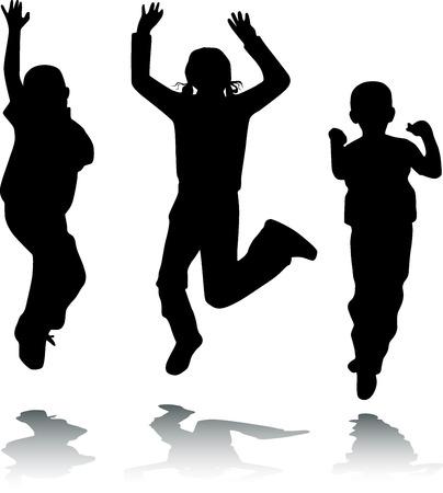 kiddy: Children jump