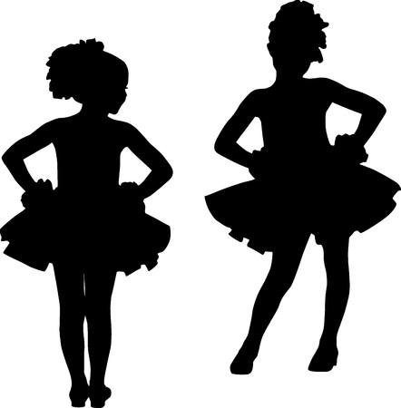 Small ballerinas photo