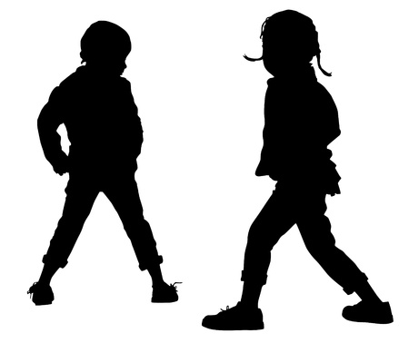 Child's fashion Vector