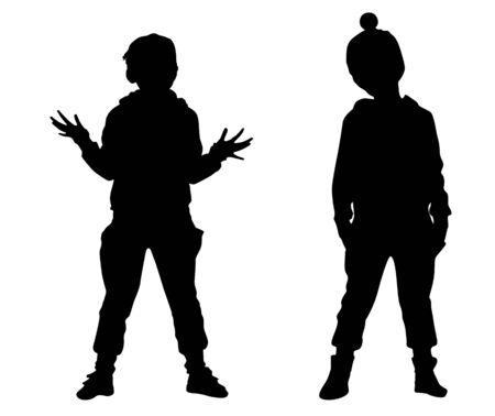 craze: Silhouette small friends