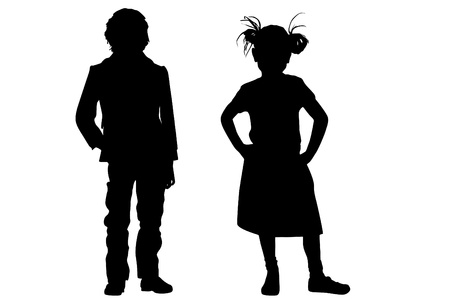 Childs fashion Vector