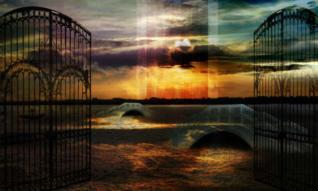 wizardry: Sands of memory Stock Photo