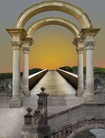 Magic bridge photo