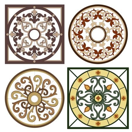 figural: Vintage vignettes mosaic