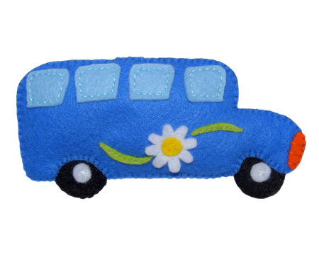 motorbus: Autobus - juguetes de los ni�os Foto de archivo
