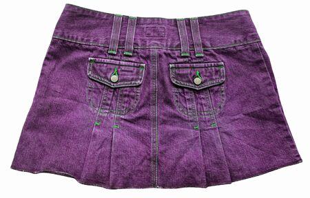 skirts: Violet denim skirts