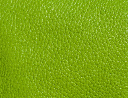genuine leather: Lime color genuine leather background Stock Photo
