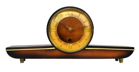 wooden clock: Vintage wooden clock