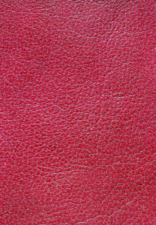 genuine: Red genuine leather background
