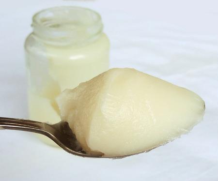 lard: White filtered lard