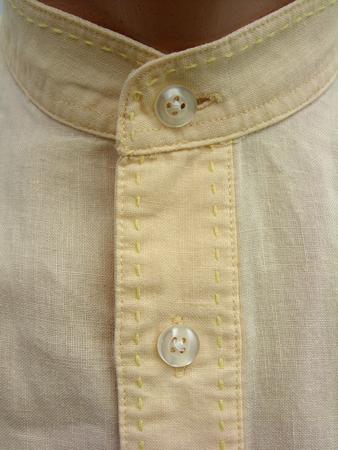 yellow shirt: Vintage men yellow shirt Stock Photo