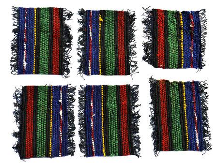 rug texture: Handmade woven wool rug