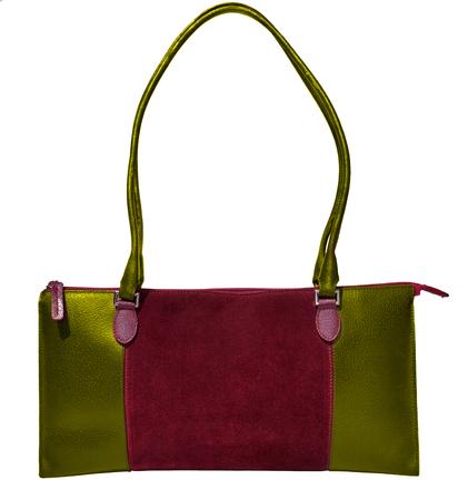 genuine leather: Bordeaux handbag genuine leather