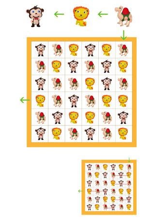 niño preescolar: juegos infantiles para la mente