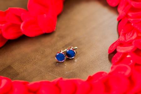 cufflink: Beautiful mens cufflinks, wedding cufflinks, stylish cufflinks Stock Photo