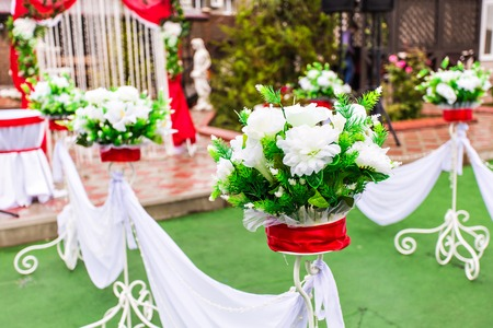 Beautiful Wedding Flower Decorations Decor With Flowers Photo