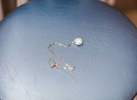 silver jewelry: Beautiful Silver jewelry chain with pendant for woman