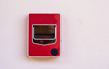 forthcoming: Push button switch fire on the wall