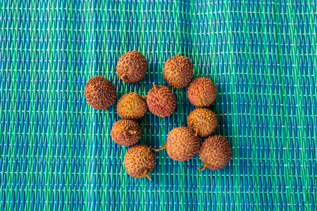lechee: Fresh lychee fruits, diet and healthy food concept