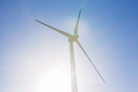baro: Green renewable energy concept - wind generator turbines in sky
