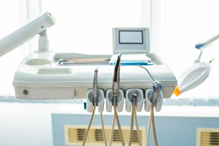 dentalcare: Professional equipment used in a dentist clinic