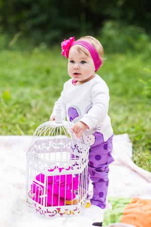 babysit: baby smile picnic playful weekend nature
