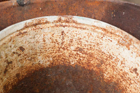 Rusty metal sheet, old grunge metal texture use for background, industrial texture for abstract Background. Iron surface rust. Stok Fotoğraf - 159528637