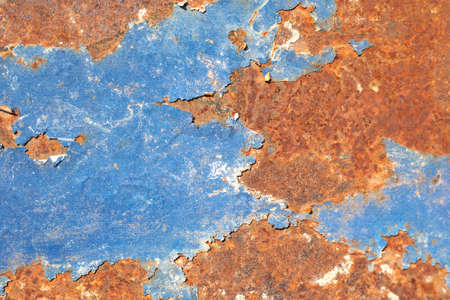 Iron surface rust. Rusty metal sheet, old grunge metal texture use for background, industrial texture for abstract Background Stok Fotoğraf