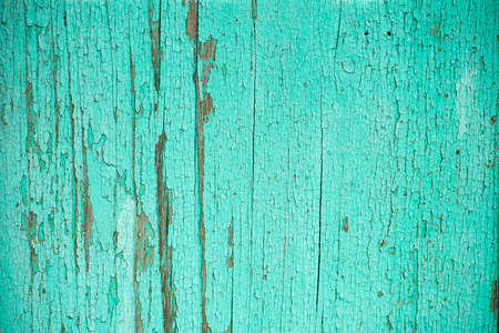 Grunge background. Peeling paint on an old wooden floor. Vintage wood background. Old wood texture Stok Fotoğraf - 159528645