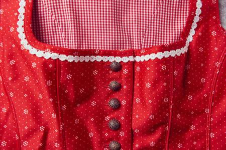 Close up of elegant dress.