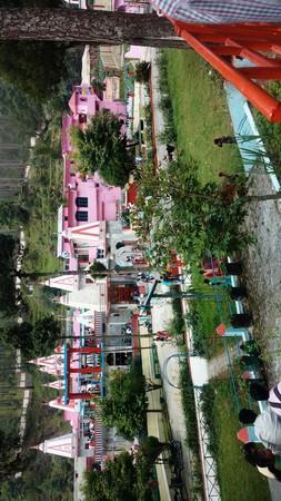 Beautiful temple Binsar mahadev at Almora Uttarakhand