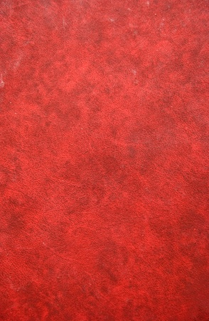 Cover of old ancient diary. Amazing red background textures. photo