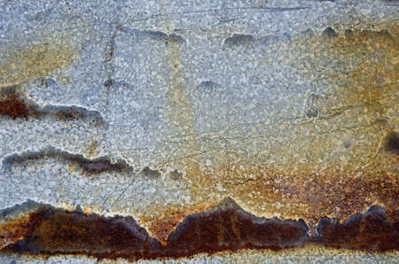 Rusty sheet steel building wall background closeup backdrop   photo