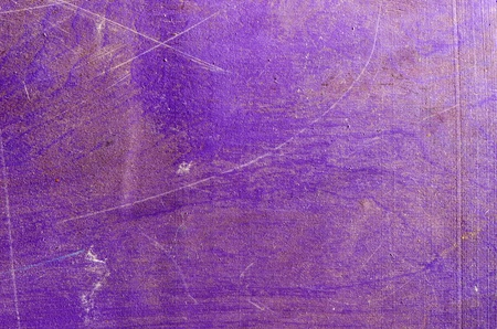 Background of ancient grunge impeachment plywood wall painted purple   photo