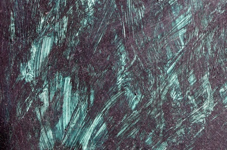 Background of painting painted in black paint  Closeup of art   photo