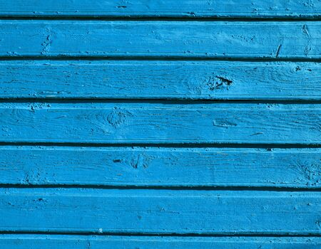 background of retro vintage grunge wooden wall planks of building painted in blue Stock Photo - 13198837