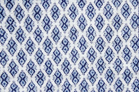Background texture of retro carpet  Old fabric ornaments Stock Photo - 13634237