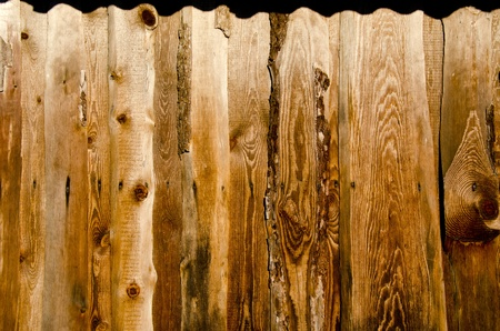 Background of wall made of ancient plank board  Retro vintage grungy building backdrop Stock Photo - 13653594