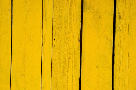 Wall made of wooden yellow planks  Interesting background