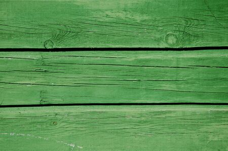 Background of green paint wooden board wall closeup   Stock Photo - 14039591