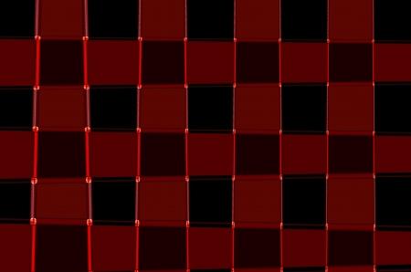 photoshop: Interessante abstracte vierkanten en ruiten achtergrond tafel Details Gemaakt met photoshop Stockfoto