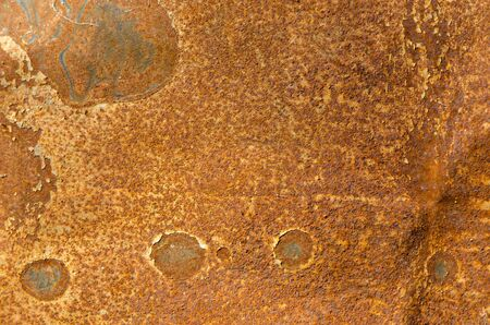 rust: tin with rust stains background  Stock Photo