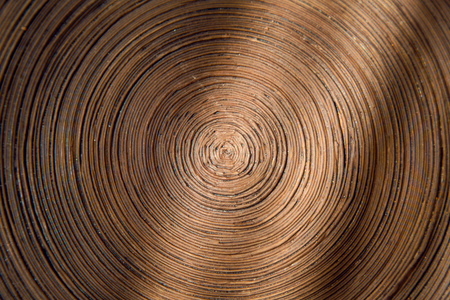 spiral is composed of dark hard cardboard paper for the background