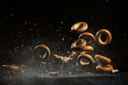 Shooting bagel