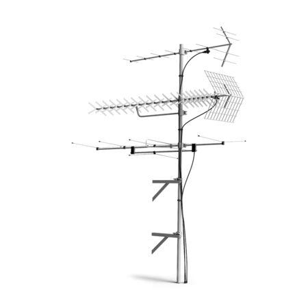TV Radio antenna, aerial Stock Photo - 6732021