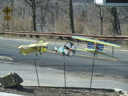 Toy  model airplanes in Huntington New York