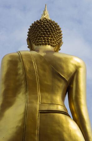 molding: Art Buddha is show back molding style Thai art.