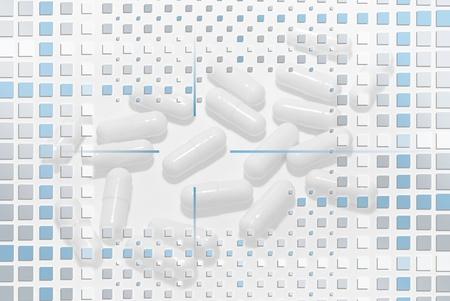 Pills Under mosaic Layer