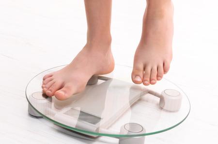 standing on scales Фото со стока - 40252144