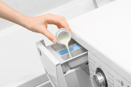 Display washing machine